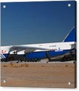 Polet Antonov An-124 Ra-82080 Phoenix-mesa Gateway Airport January 14 Acrylic Print