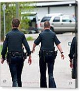 Police Pants Acrylic Print