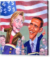 Political Puppets Acrylic Print