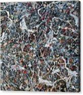 Pollock's Ghosts Acrylic Print