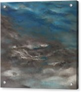 Pollution Clouds Acrylic Print
