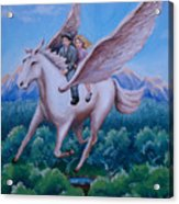 Polly And Diggory Acrylic Print