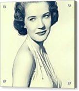 Polly Bergen, Vintage Actress Acrylic Print