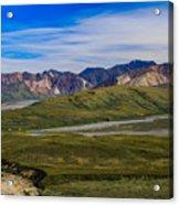 Polychrome Pass Area Denali National Park Four Acrylic Print