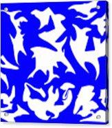Polygon Sky Acrylic Print