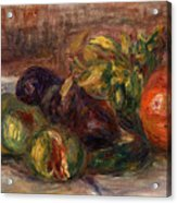 Pomegranate And Figs Acrylic Print