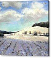 Pomfret Hills Acrylic Print