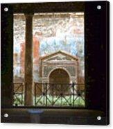 Pompei View 1 Acrylic Print