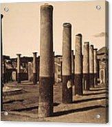 Pompeii, Excavation Acrylic Print