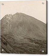 Pompeii: Mt. Vesuvius, C1890 Acrylic Print