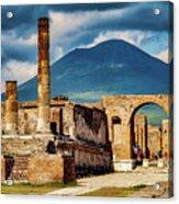 Pompeii Redeux Acrylic Print