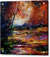 Pond 671254 Acrylic Print