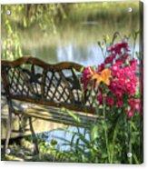 Pond Dreams 11 Acrylic Print