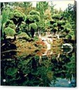 Pond Of Mirrors Acrylic Print
