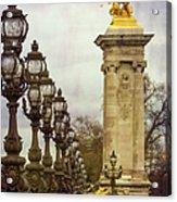 Pont Alexandre IIi Paris Acrylic Print