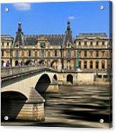 Pont Du Carrousel Acrylic Print
