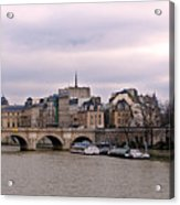 Pont Neuf In Paris Acrylic Print