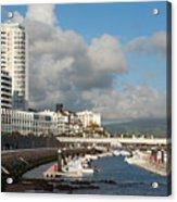Ponta Delgada Waterfront Acrylic Print