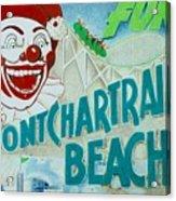 Pontchartrain Beach Acrylic Print