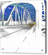 Ponte Acid. Acrylic Print
