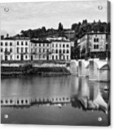 Ponte Alla Grazie Acrylic Print