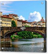 Ponte Santa Trinita Acrylic Print