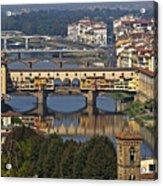 Ponte Vecchio - Florence Acrylic Print