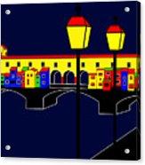 Ponte Vecchio Inspirations Acrylic Print