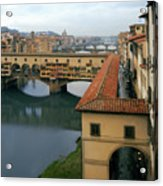 Ponte Vecchio Acrylic Print by Warren Home Decor