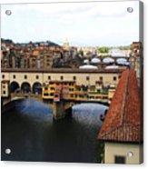 Ponte Vechio Florence Acrylic Print