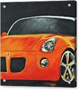 Pontiac Solstice Acrylic Print