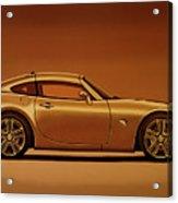 Pontiac Solstice Coupe 2009 Painting Acrylic Print
