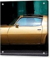 Pontiac Trans Am Acrylic Print