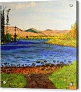 Pontoosuc Lake Pittsfield Massachusetts Acrylic Print