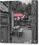 Pontotoc Vineyard Weingarten_8 Acrylic Print