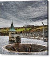 Pontsticill Reservoir Valve Tower Acrylic Print