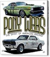 Pony War Classics Acrylic Print