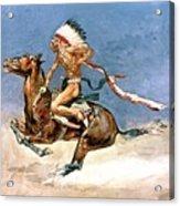 Pony War Dance Acrylic Print