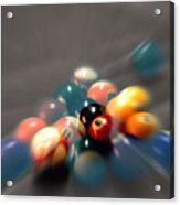 Pool Ball Break 2 Acrylic Print