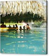 Pool Bar Acrylic Print