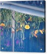 Pool Garden Acrylic Print