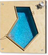 Pool Modern Acrylic Print