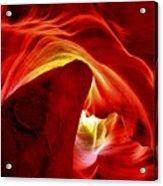 Pool Of Fire Acrylic Print