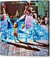 Pool Party Sold Acrylic Print