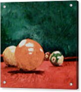Pool Table 2  Acrylic Print