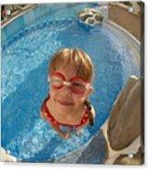 Pool Tester Acrylic Print
