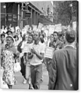 Poor Peoples March, 1968 Acrylic Print