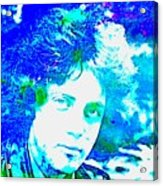 Pop Art Billy Joel Acrylic Print