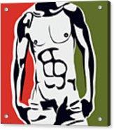 Pop Art Body  Acrylic Print