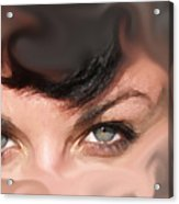 Pop Art Eyes Acrylic Print